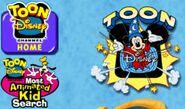 Too Disney 1998 logo and 2001 logo