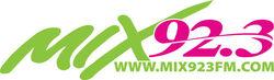 Wmxd mix 92.3 logo