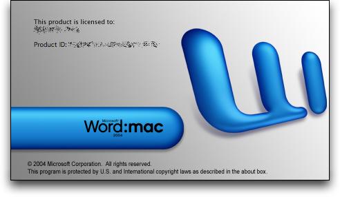 microsoft office 2003 mac