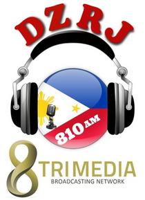 8TriMedia on DZRJ 810 AM Logo