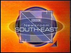 BBC Newsroom South East 1997