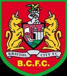 Bristol City FC logo (1998-1999, away)