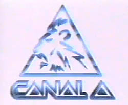 Canal A Colombia logo 1992-1998