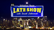 Late Show with David Letterman Opening Sequence Title Card April 2013