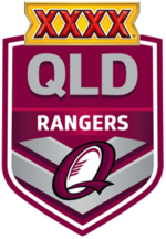 QRL Rangers Logo (2013-2014)