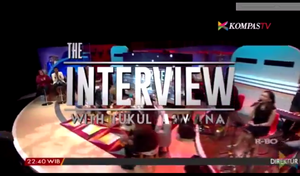 The interview with tukul arwana