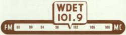 WDET Detroit 1949
