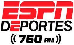 WEFL ESPNDeportes760 logo