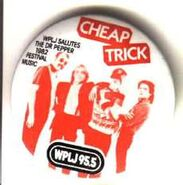 WPLJ-FM's 95.5's The Dr. Pepper 1982 Music Festival, Cheap Trick Promo For 1982