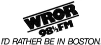 WROR FM Boston 1979
