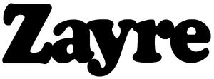 Zayre Wordmark x