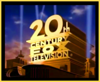 20th Century Fox Television 1995 Print Logo (No Byline, Color)