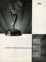 6th Primetime Emmy Awards poster