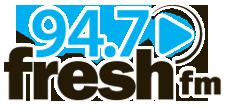 947 fresh fm logo
