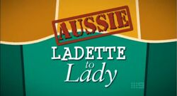 Aussie Ladette to Lady