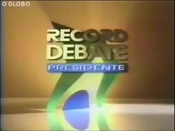 Record debate presidente