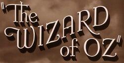 The Wizard of Oz (1941) Logo