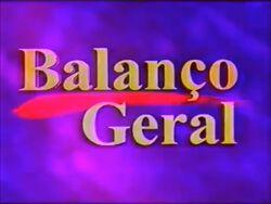 Balanço Geral 1997
