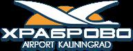 Khrabrovo Kaliningrad Airport Logo