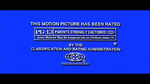 MPAA PG-13 Rating Screen (1994)