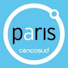 Paris logo 2010 con fondo
