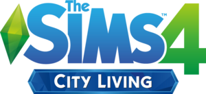 TheSims4CityLivingLogo