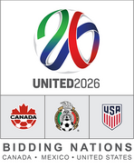 USA-Canada-Mexico 2026 World Cup Bid Logo (local)
