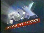 WFLD FOX News Chicago 9PM 1994