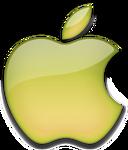 Apple 2001 yellow