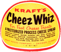 Cheez Whiz 1954