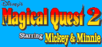 Disney's Magical Quest 2 Logo