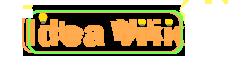 Idea Wiki wordmark