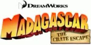Madagascar The Crate Escape early logo