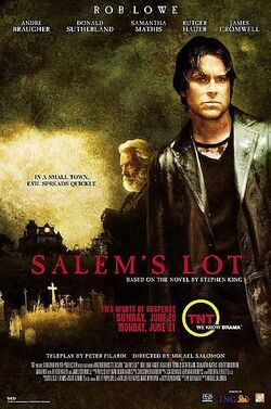 Salem's Lot (TNT) poster