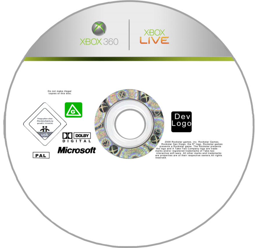 Image - Xbox disc template by georgiajedward-d4yqmh7.png | Logopedia ...
