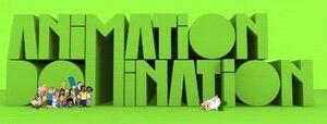 Animation domination logo