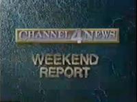 KDFW Channel 4 News weekend open - 1989