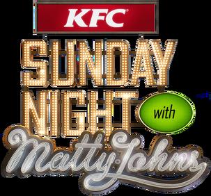 KFC Sunday Night With Matty Johns Logo