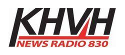 News Radio 830 KHVH