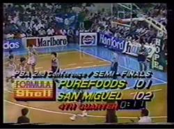 PBA on Vintage Sports scorebug 1989 1991