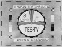 Tes TV Testcard