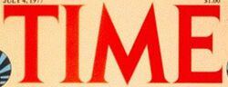 Time magazine 1977 logo