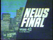 WUAB Channel 43 News Final 1977