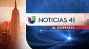 Wxtv noticias 41 al despertar package 2013