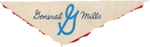 General Mills 1956 On Cereal Box Logo