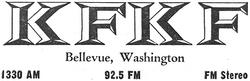 KFKF Bellevue 1966