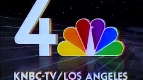 KNBC NBC Channel 4 (1990) Station Identification