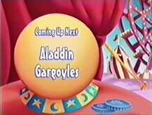 Toon Disney coming up next - Aladdin and Gargoyles