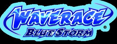 Wave Race Blue Storm Logo