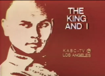 KABC The King And I Promo Slide 1973
